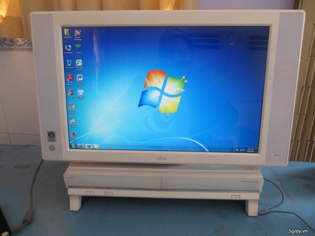 Máy tính Desknote Core 2 Duo màn hình LCD19inch, hàng Nhật giá 1,25 tr