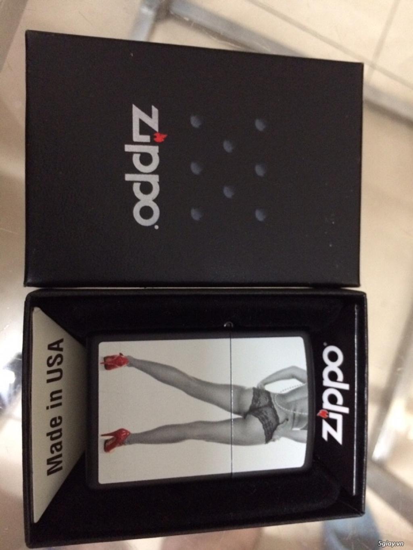 Đồng hồ Zippo hàng hiệu xách tay, tặng bật lửa cá tính