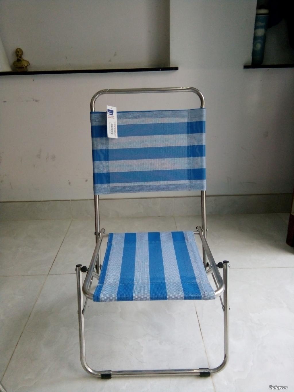 ghế xếp inox hiệu Obent chất lượng tốt, giá hợp lý, nhiều màu . - 3