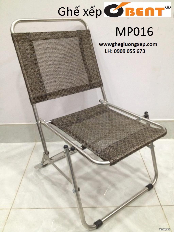 ghế xếp inox hiệu Obent chất lượng tốt, giá hợp lý, nhiều màu . - 7