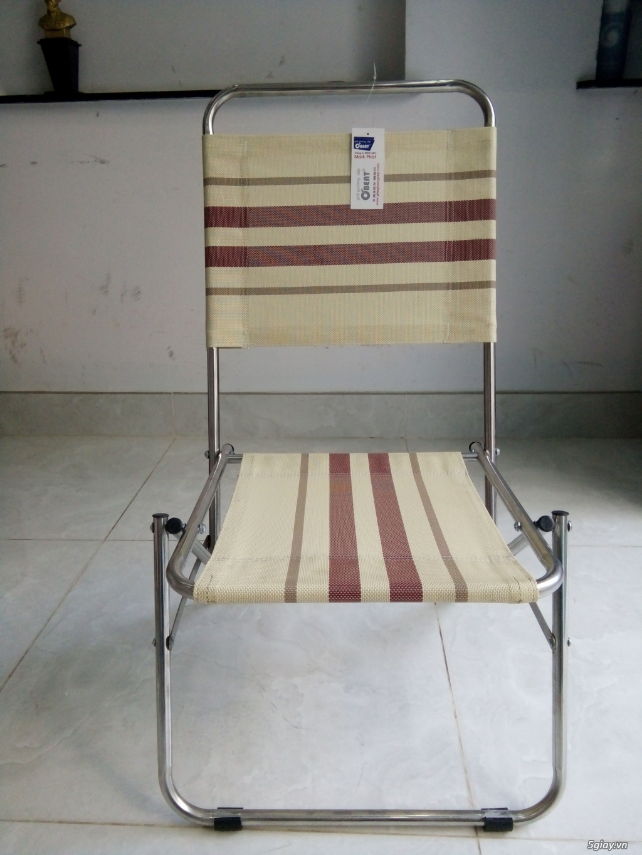 ghế xếp inox hiệu Obent chất lượng tốt, giá hợp lý, nhiều màu . - 5