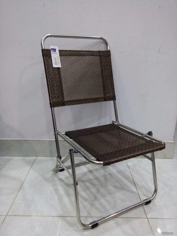 ghế xếp inox hiệu Obent chất lượng tốt, giá hợp lý, nhiều màu . - 1