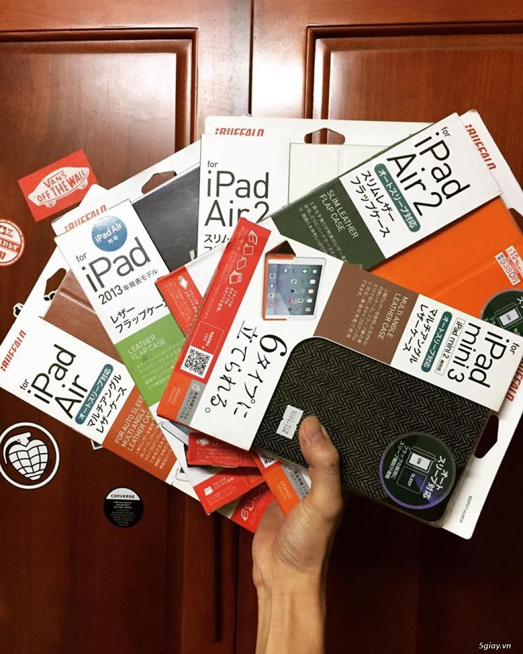 iCaseShop : Chuyên case iBuffalo Nhật Bản chính hãng cho iPad !!!