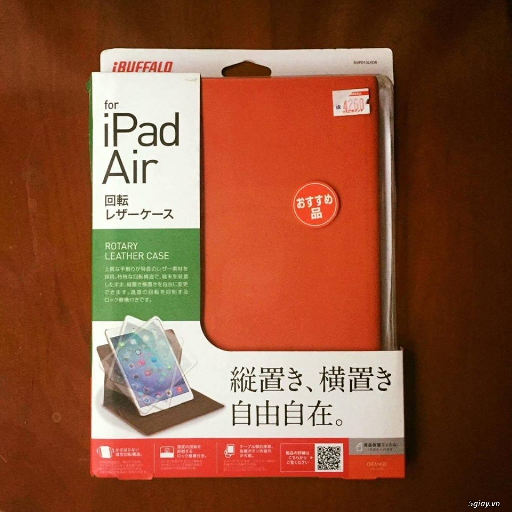 iCaseShop : Chuyên case iBuffalo Nhật Bản chính hãng cho iPad !!! - 1