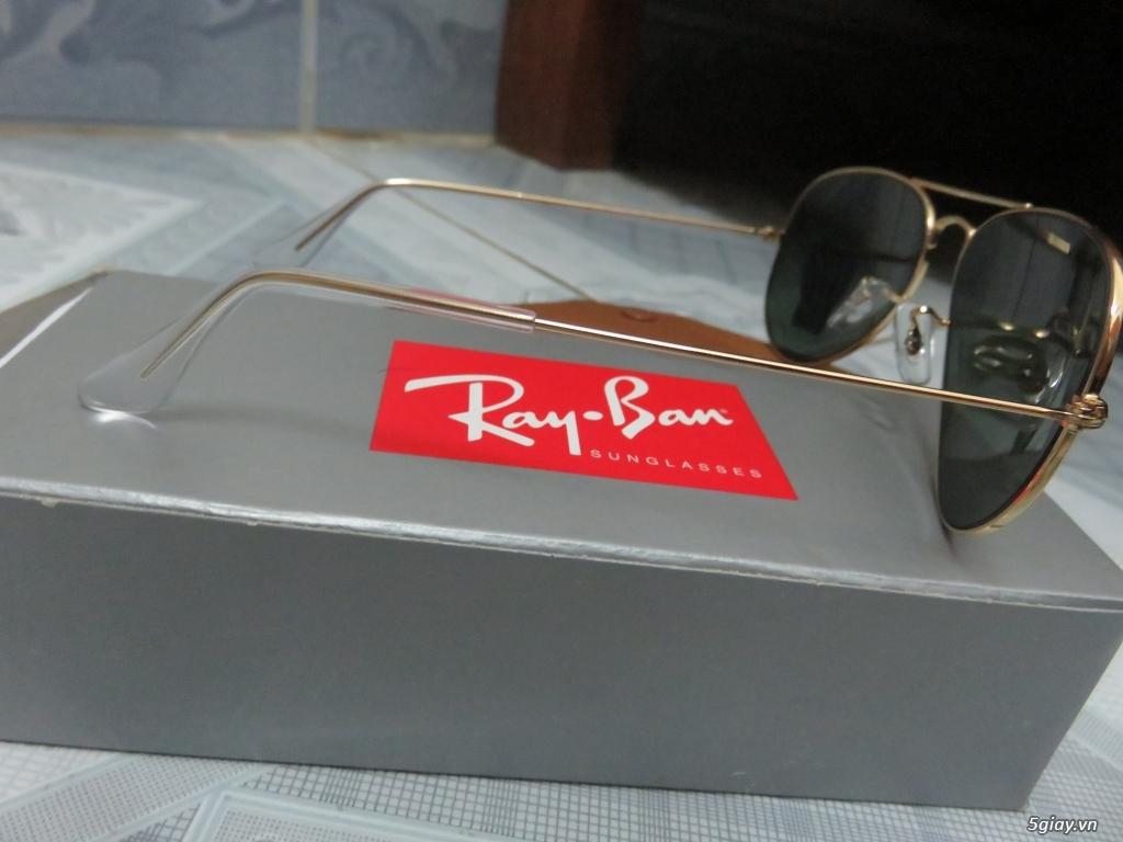 Cần bán kính RayBan chính hãng thật 100% nhập từ Pháp( có hoa đơn) - 1