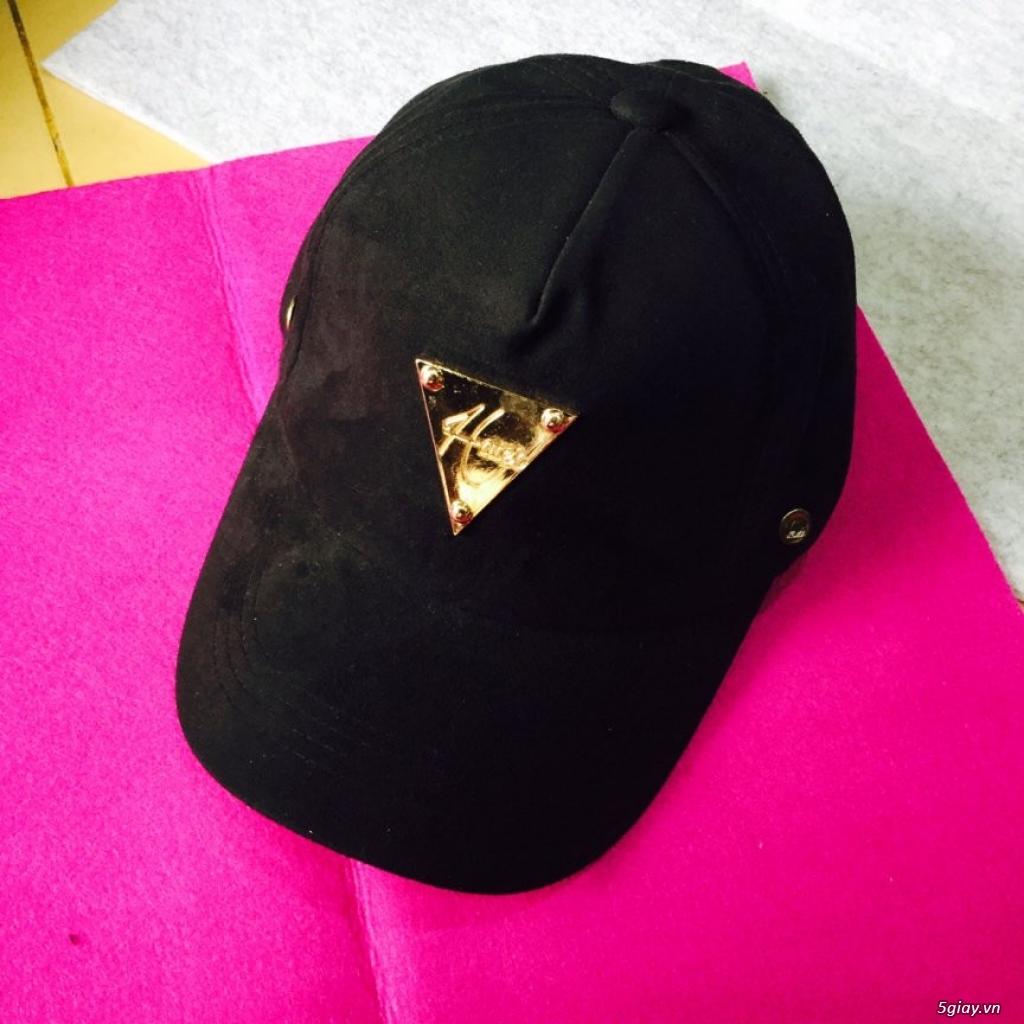 chuyên sỉ nón thời trang,nón đẹp,nón nam nữ giá sỉ 49k, đơn 500k đc sỉ - 4