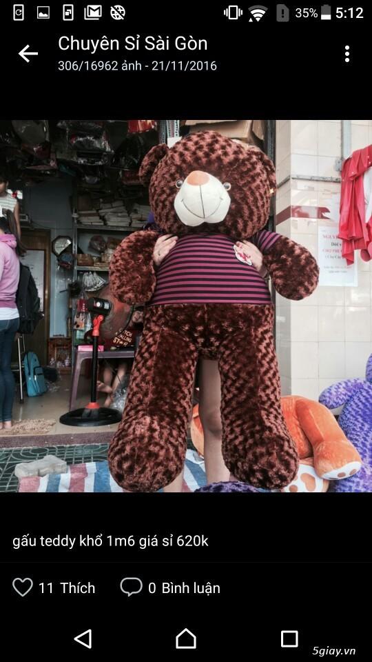 Gấu bông bansisaigon giá sỉ chuyên cung cấp gấu bông, thú bông giá sỉ - 3