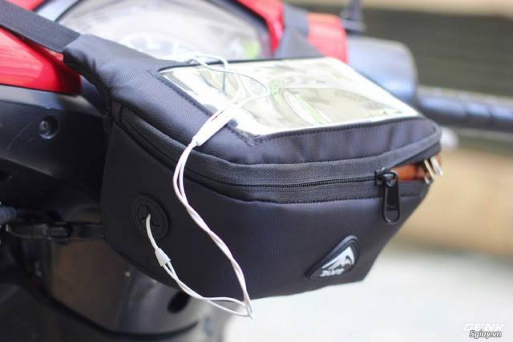 Bán túi Ghi đông K-1605 - Túi GPS - Túi treo đầu xe máy - túi đi phượt - 2