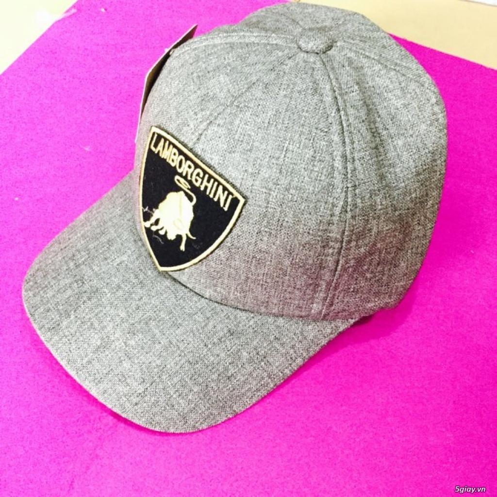 chuyên sỉ nón thời trang,nón đẹp,nón nam nữ giá sỉ 49k, đơn 500k đc sỉ - 2