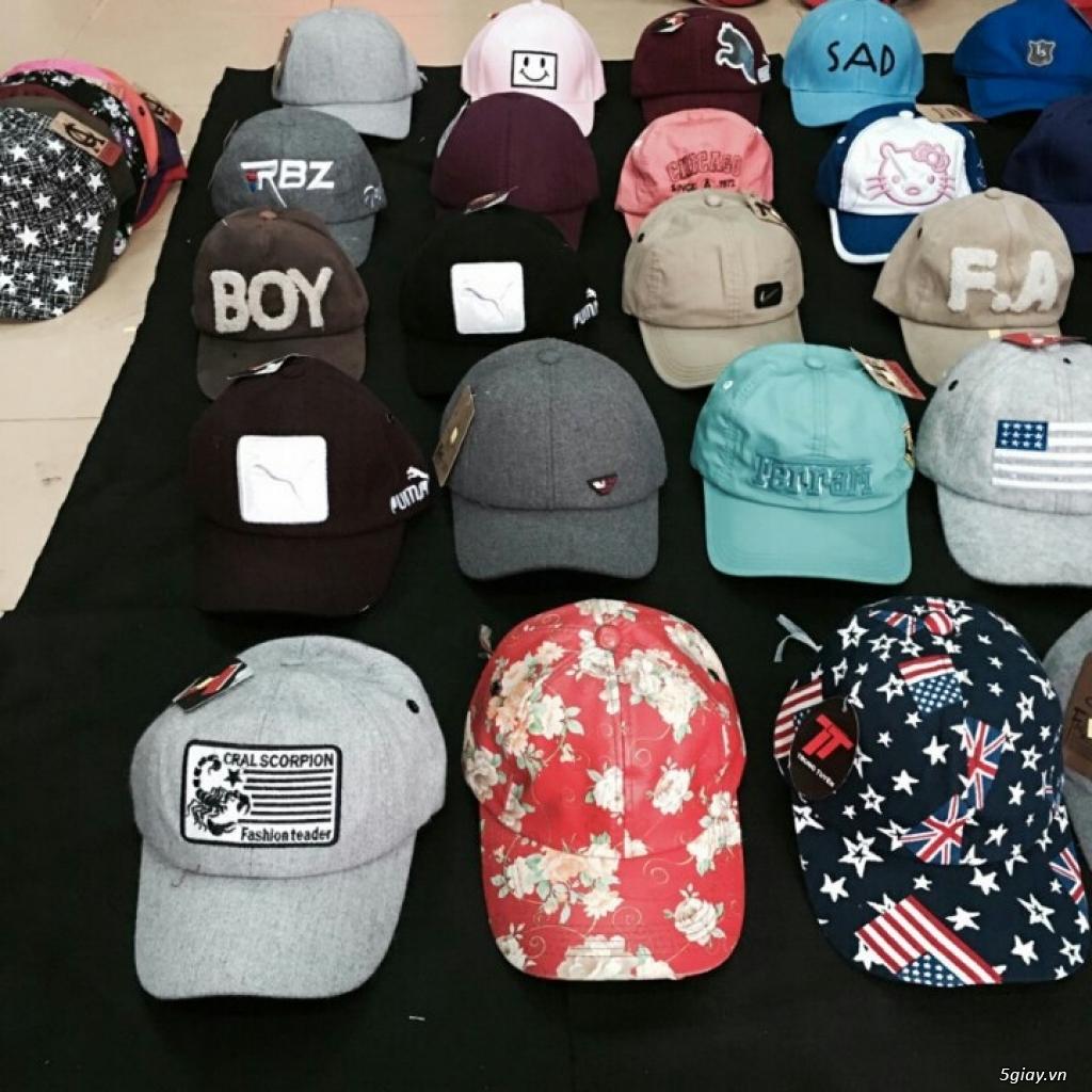 chuyên sỉ nón thời trang,nón đẹp,nón nam nữ giá sỉ 49k, đơn 500k đc sỉ - 20