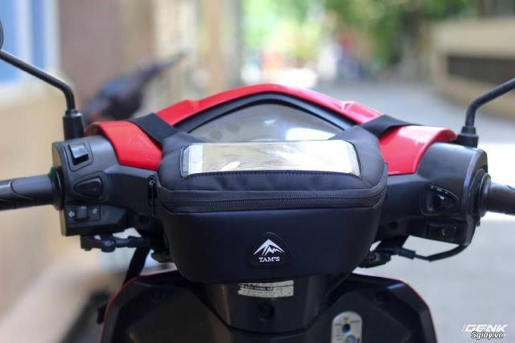 Bán túi Ghi đông K-1605 - Túi GPS - Túi treo đầu xe máy - túi đi phượt - 3