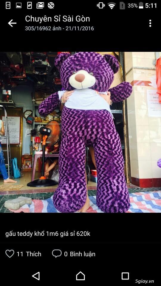 Gấu bông bansisaigon giá sỉ chuyên cung cấp gấu bông, thú bông giá sỉ - 4