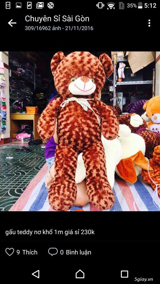 Gấu bông bansisaigon giá sỉ chuyên cung cấp gấu bông, thú bông giá sỉ - 2