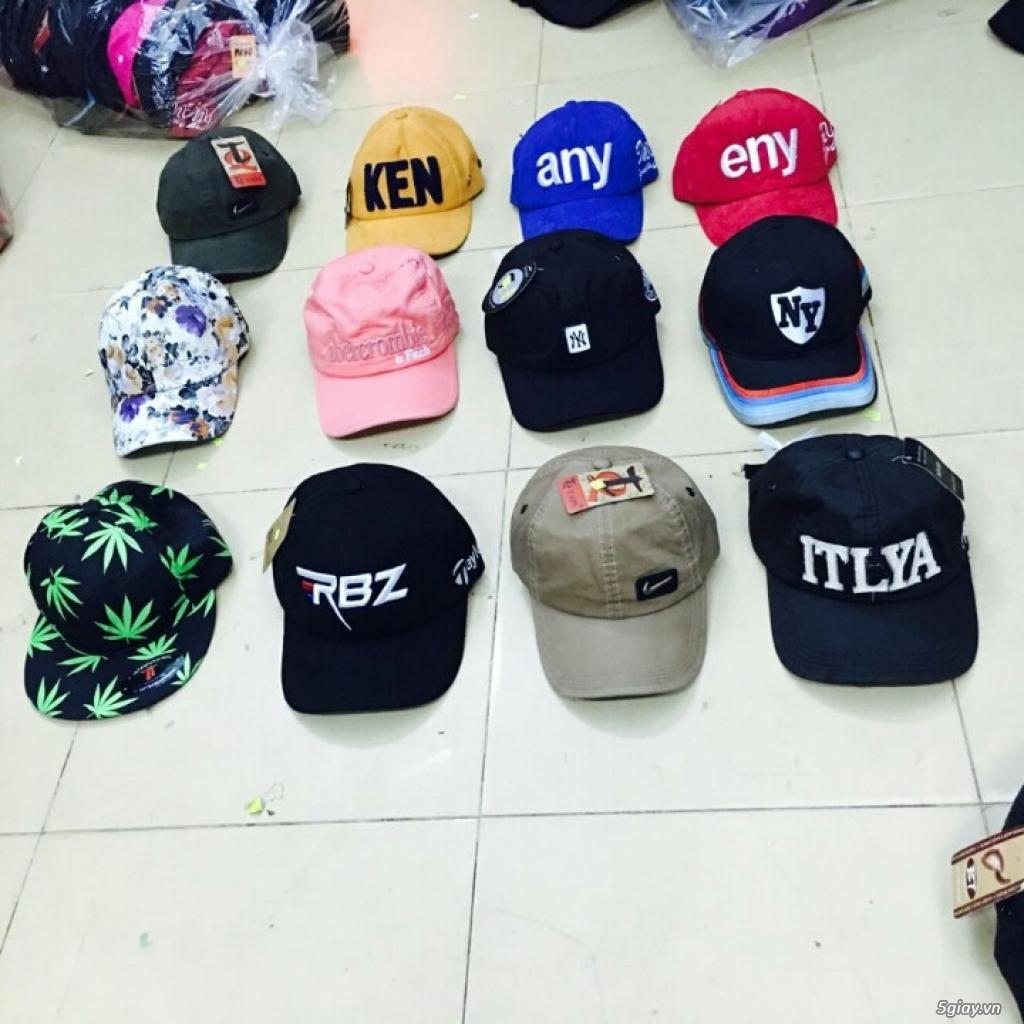 chuyên sỉ nón thời trang,nón đẹp,nón nam nữ giá sỉ 49k, đơn 500k đc sỉ - 28