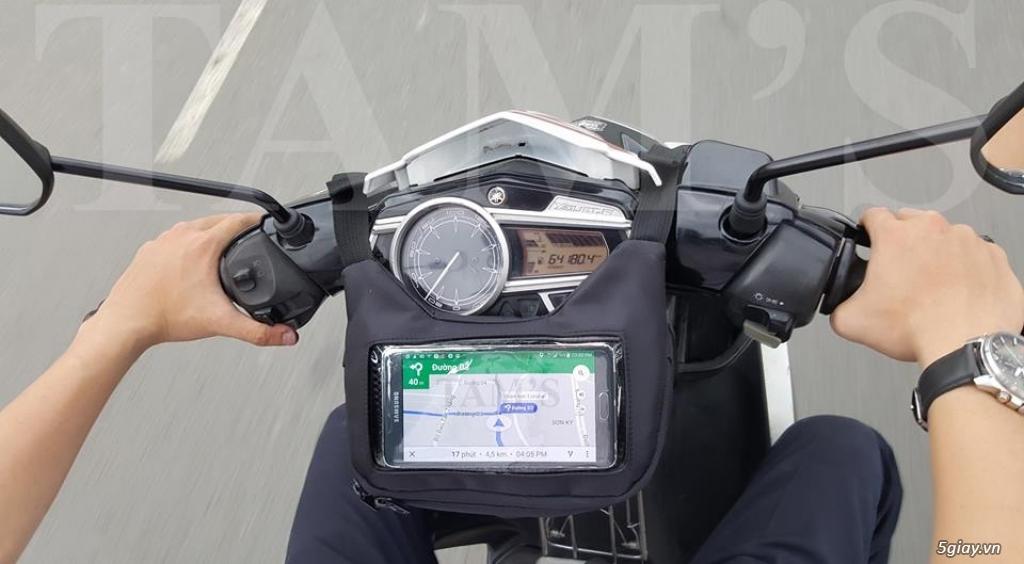 Bán túi Ghi đông K-1605 - Túi GPS - Túi treo đầu xe máy - túi đi phượt