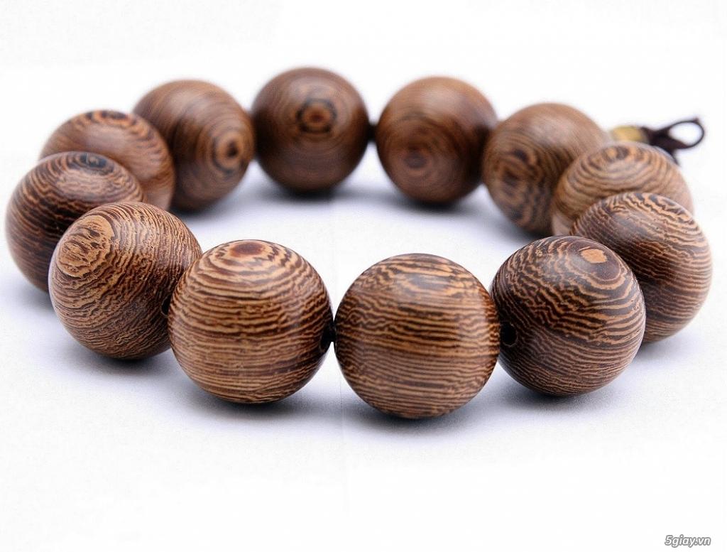 Vòng tay gỗ quý - càng đeo càng đẹp - 7