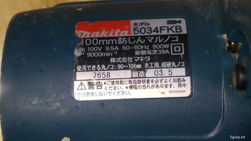 Máy cưa, máy cắt, máy mài, máy cưa cắt đa năng nội địa Nhật - 14