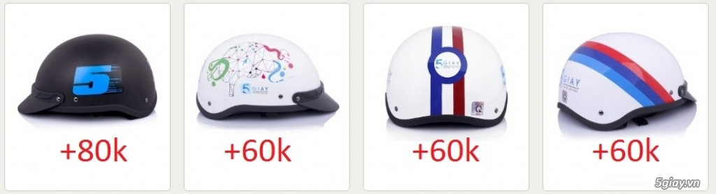 Đổi nón cũ lấy nón mới +60k - Nhanh chân lên, số lượng có hạn các bạn nhé