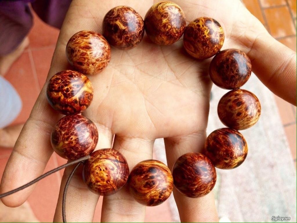 Vòng tay gỗ quý - càng đeo càng đẹp - 4