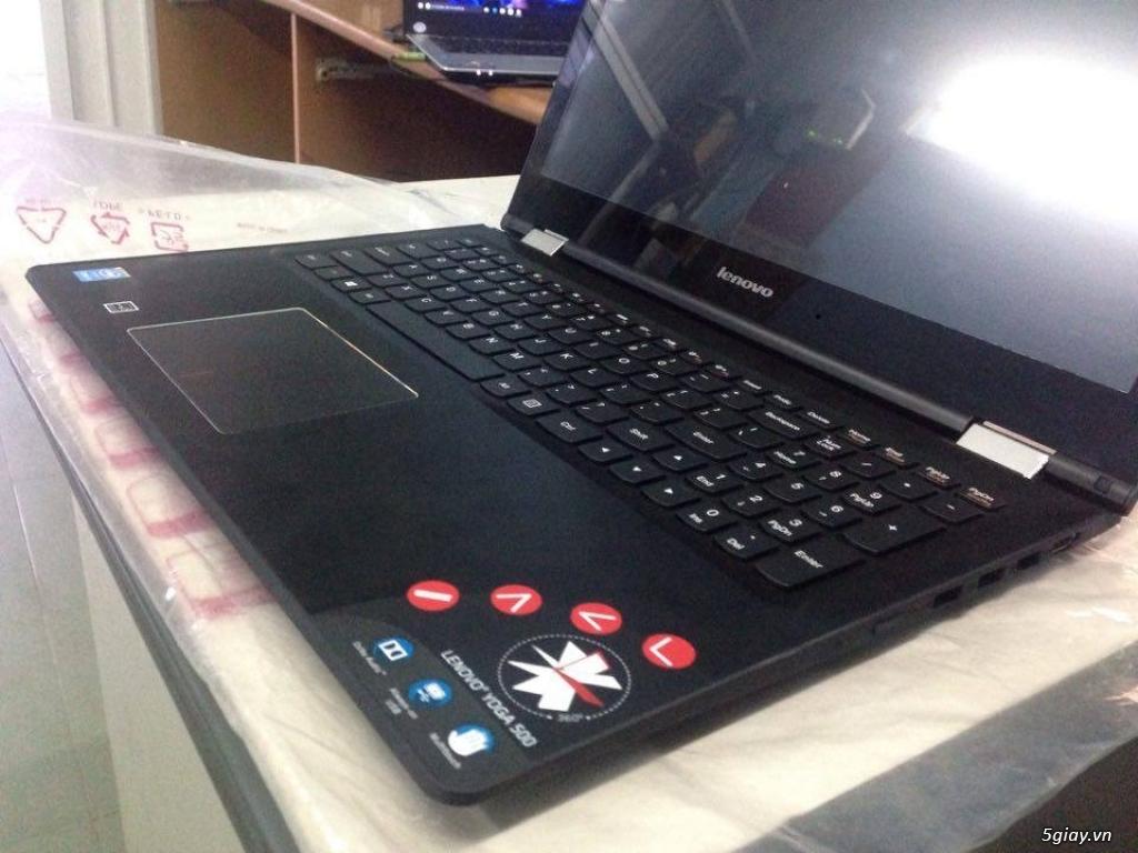 Lenovo Yoga 500 15IBD I3 5020U FHD Touch 360, fullbox, BH 2 năm - 1