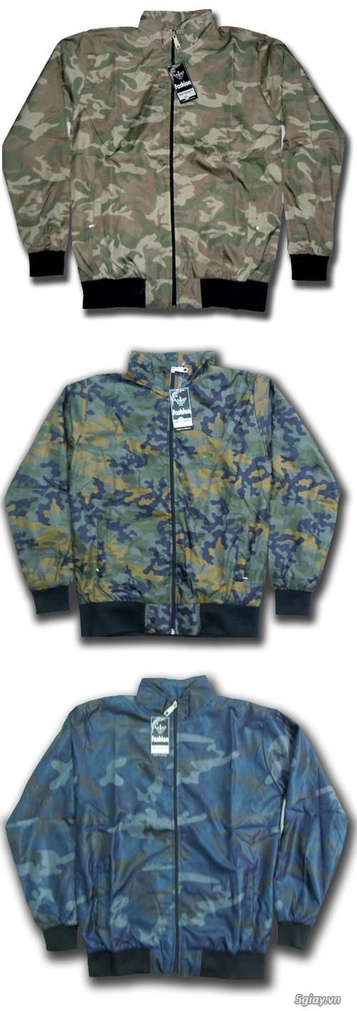 Nhiều mẫu áo khoác thời trang dành cho bạn trẻ giá bình dân - 5
