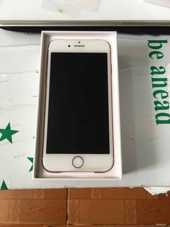 Thanh lý 3 cây Iphone 7 32g Rose Lock mỹ  mới 100% nguyên Seal - 2