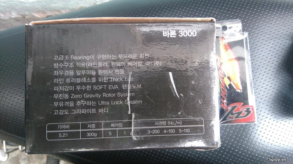 thanh lý máy câu Banax baron 3500 - 8