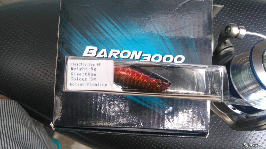 thanh lý máy câu Banax baron 3500 - 7