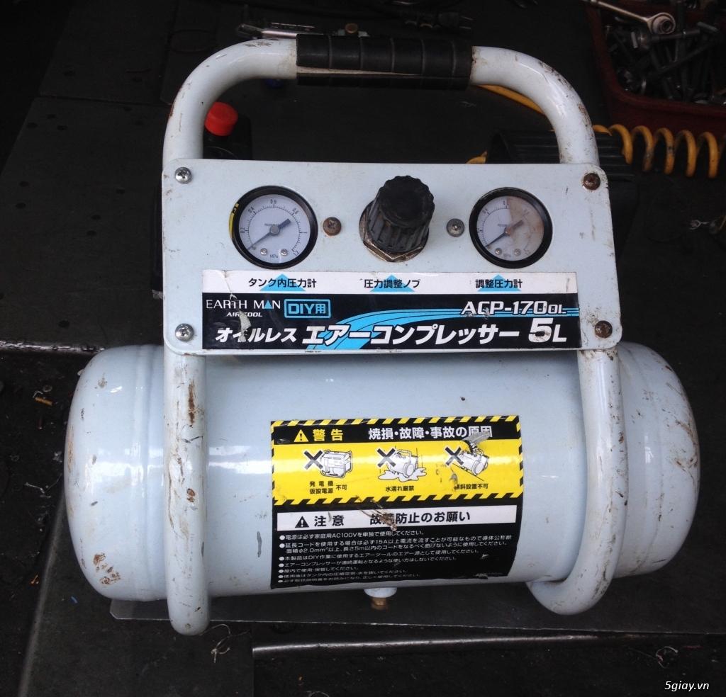 Máy nén khí mini dân dụng xuất xứ Nhật