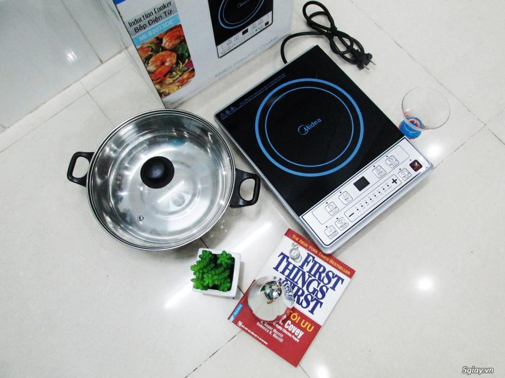Bếp điện từ, bếp hồng ngoại nấu siêu nhanh, an toàn, tiết kiệm (Mới) - 4
