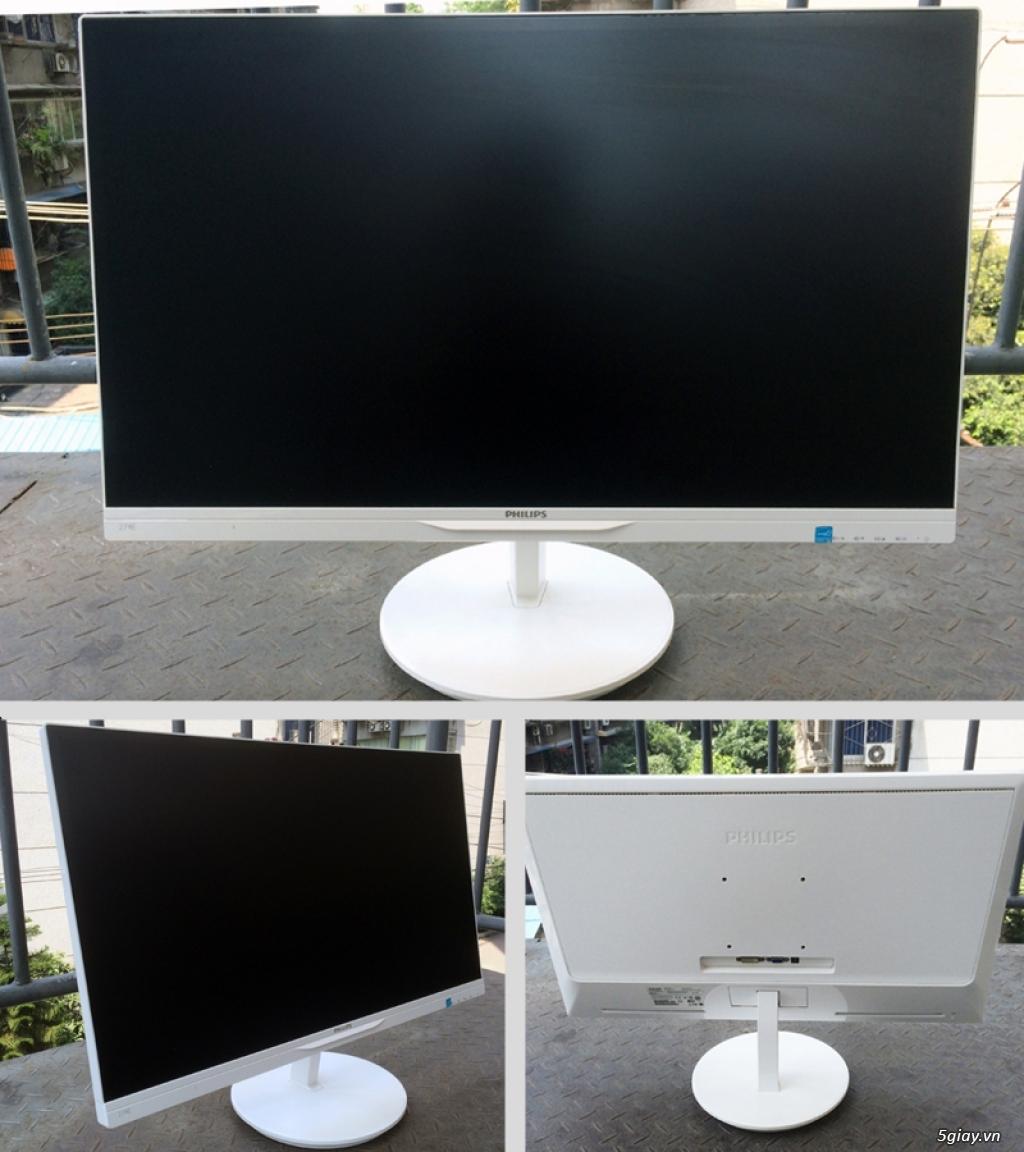 """Màn hình LCD Asus LG SamSung Philips AOC 27"""" Full-HD AH-IPS, PLS, Curved Cong, 4K UltraHD giá rẻ.. H - 7"""