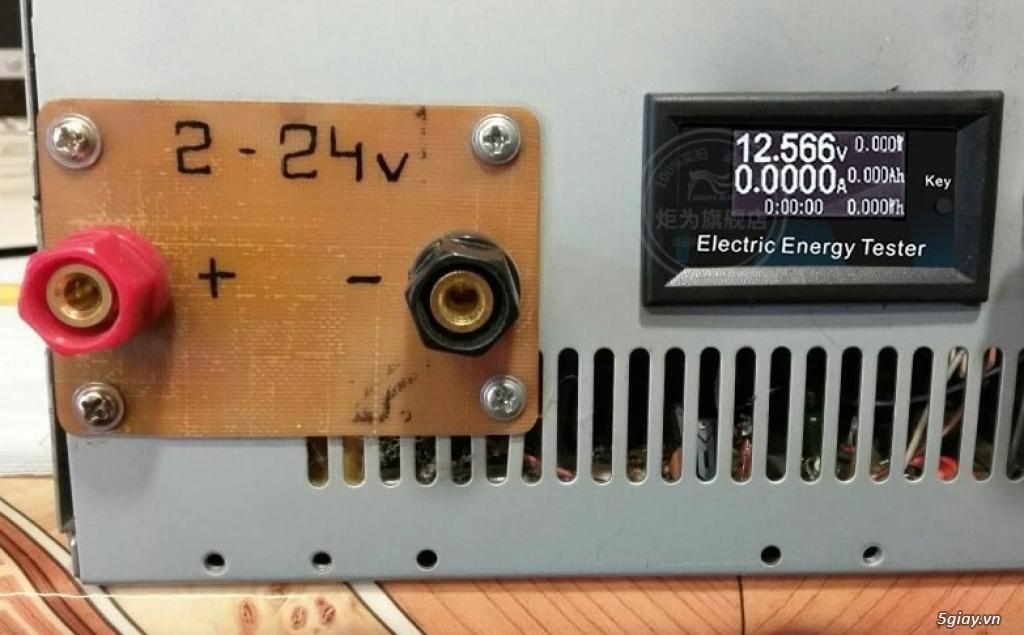 Bộ USB test đo dòng sạc điện thoại, kiểm tra pin sạc dự phòng, cục sạc - 21