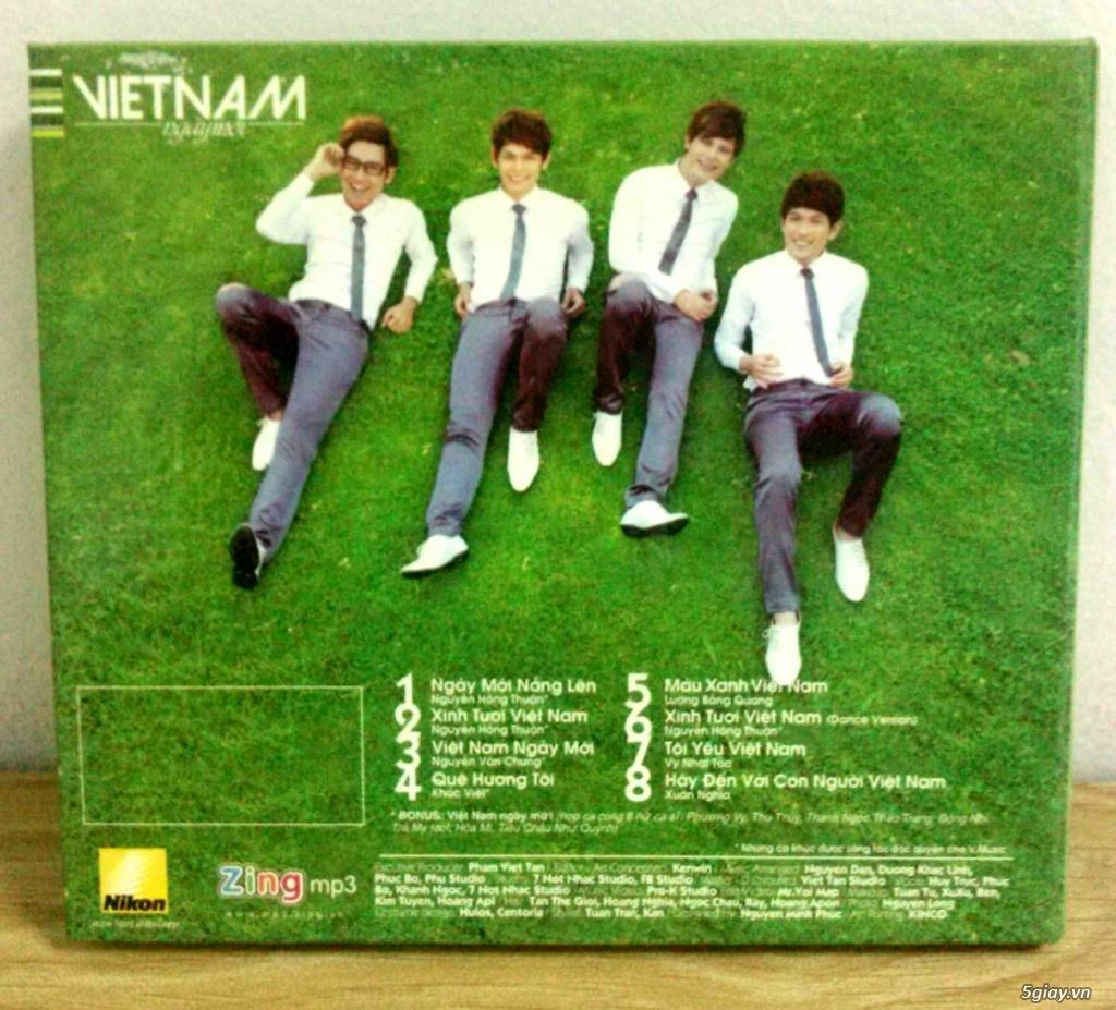 Cần bán một vài Đĩa CD nhạc Việt gốc mới 90-100% - 7