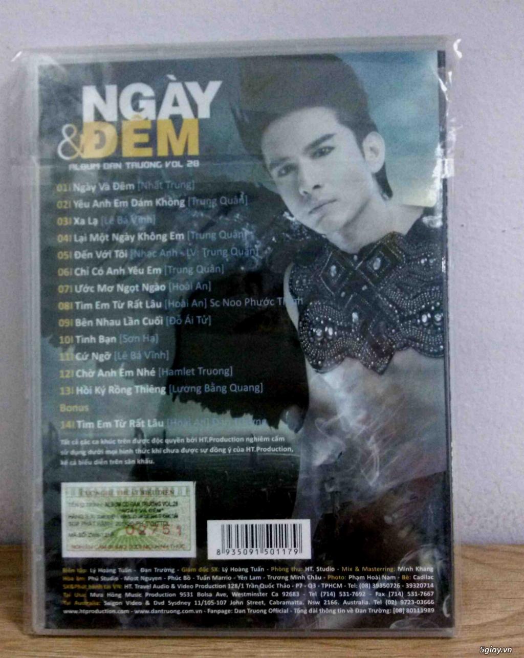 Cần bán một vài Đĩa CD nhạc Việt gốc mới 90-100% - 3