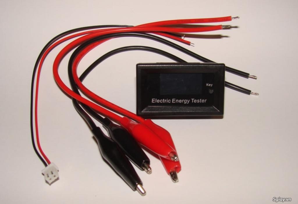 Bộ USB test đo dòng sạc điện thoại, kiểm tra pin sạc dự phòng, cục sạc - 18