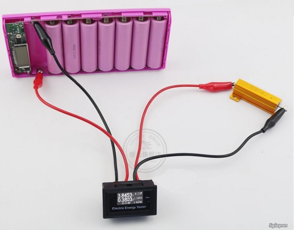 Bộ USB test đo dòng sạc điện thoại, kiểm tra pin sạc dự phòng, cục sạc - 20