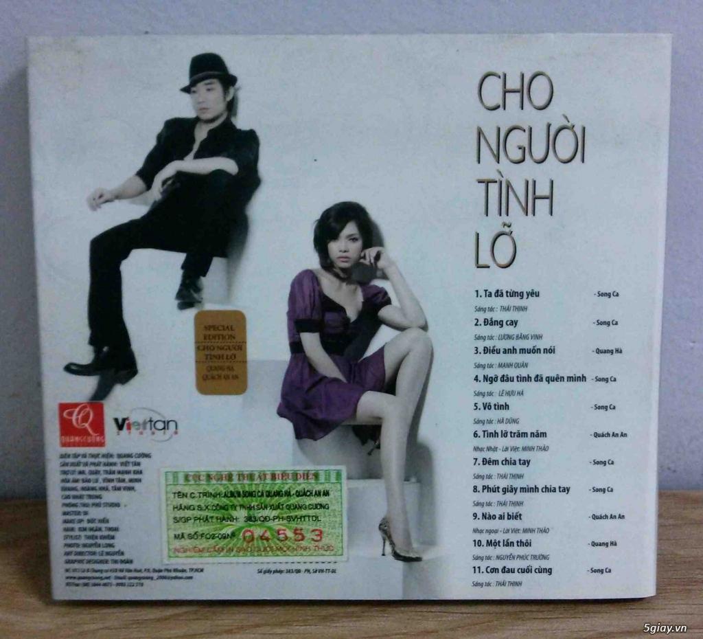 Cần bán một vài Đĩa CD nhạc Việt gốc mới 90-100% - 14