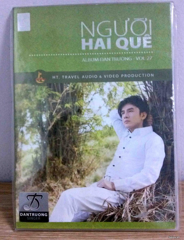Cần bán một vài Đĩa CD nhạc Việt gốc mới 90-100%