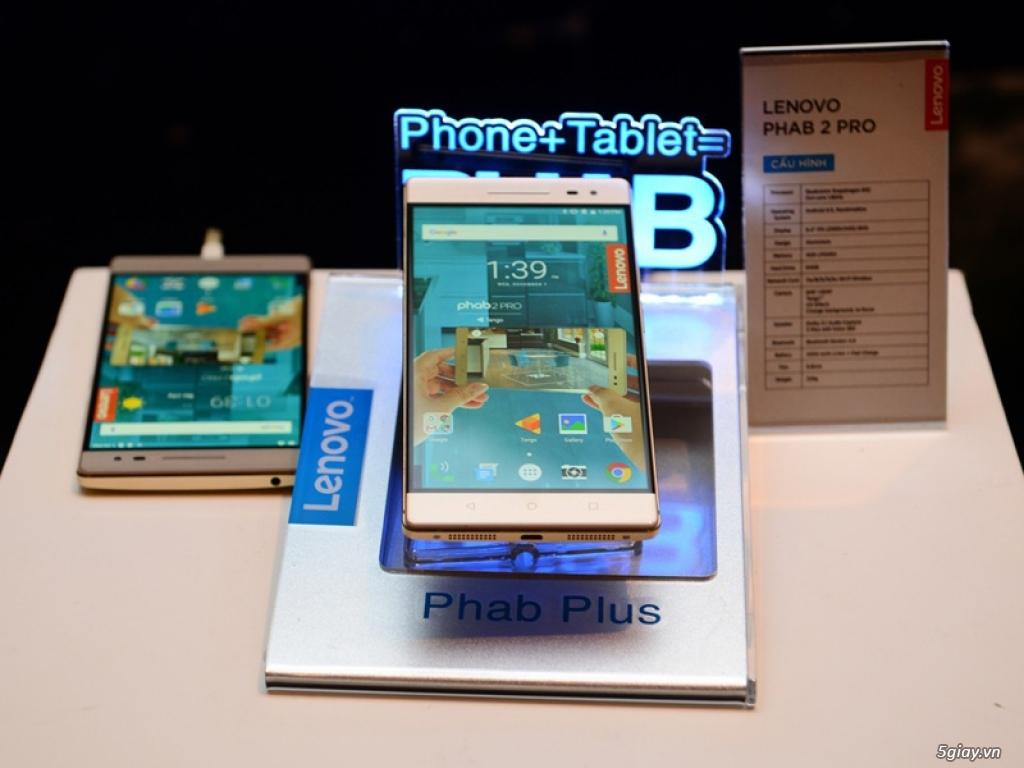 Lenovo giới thiệu PHAB2 Pro - điện thoại hỗ trợ công nghệ Tango - 159978