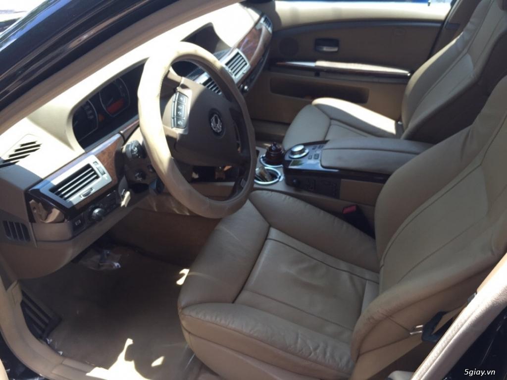 Bán sedan BMW 730Li cuối 2005 màu đen máy cực êm - 3