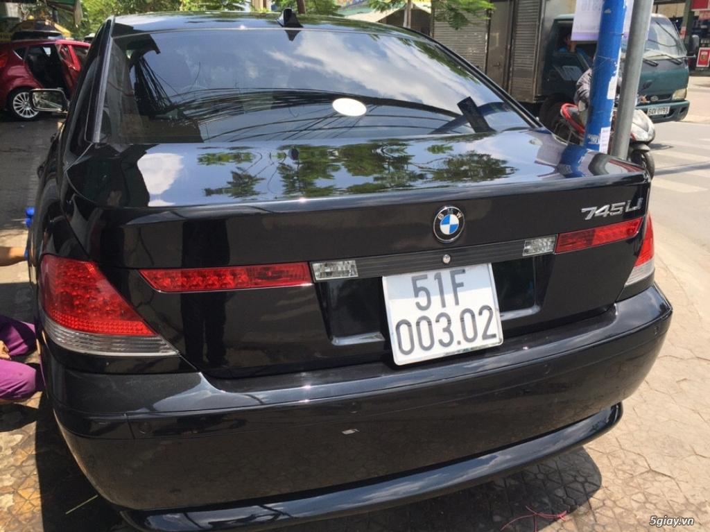 Bán sedan BMW 730Li cuối 2005 màu đen máy cực êm - 4