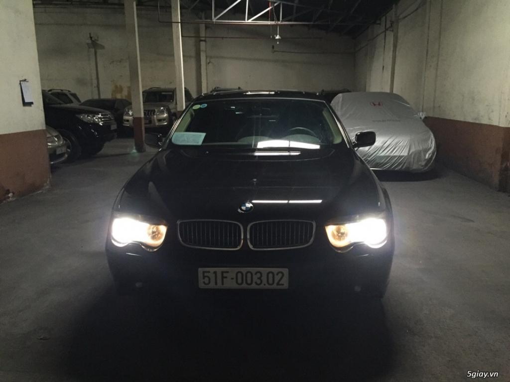 Bán sedan BMW 730Li cuối 2005 màu đen máy cực êm - 2