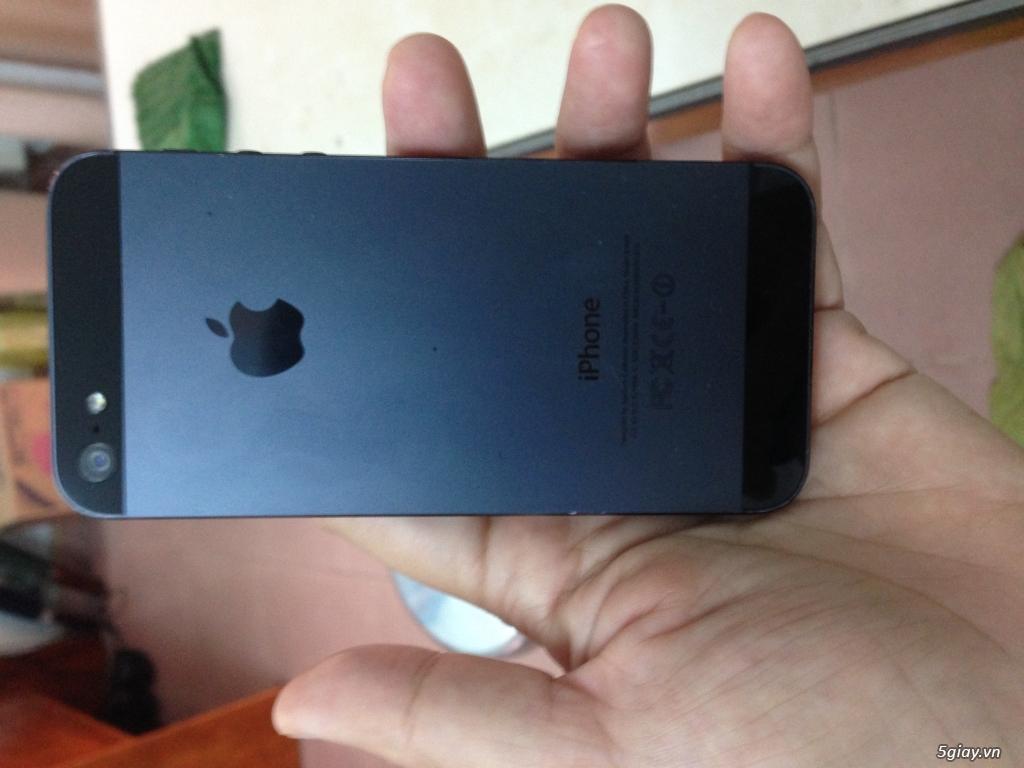Cần bán iphone 5 16gb màu đen - 3