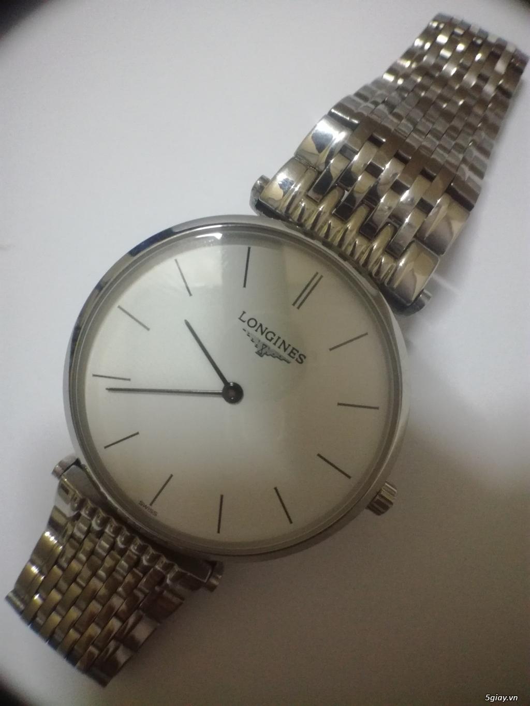 Đồng hồ nam Longines new 98% cần thanh lý