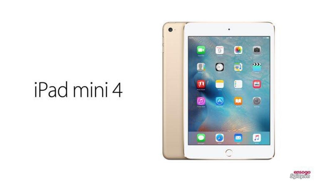 iPad Mini 4 64GB Wi-Fi Gold (USA) - 1