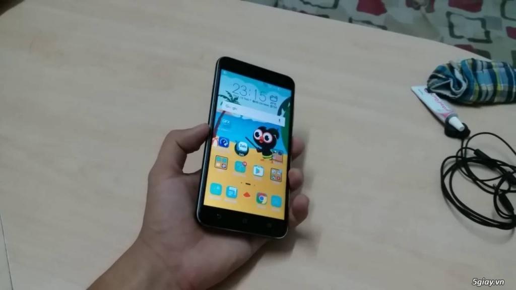 Bán Zenfone 3 ZE552KL 5,5 BLACK chính hãng MỚI MUA + BẢO HÀNH RƠI VỠ