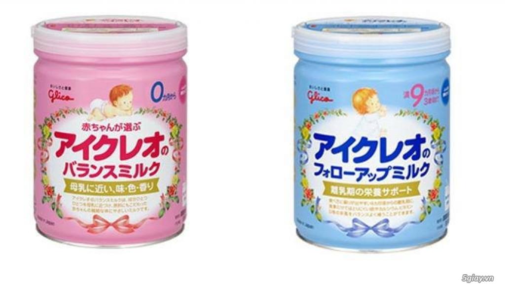 """Sữa Glico - Nhật Bản - """"VUI XUÂN KHUÂN BẢO BỐI"""" CÙNG GLICO"""
