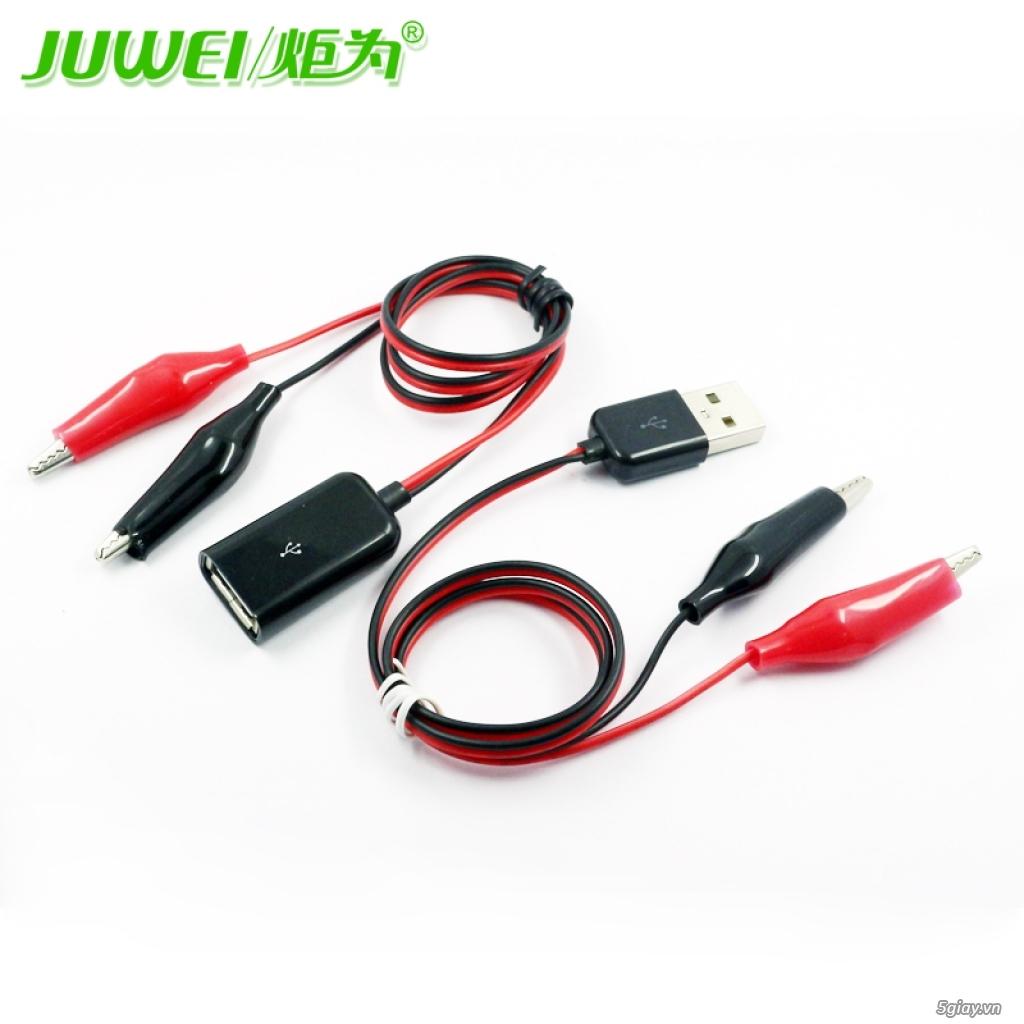 Bộ USB test đo dòng sạc điện thoại, kiểm tra pin sạc dự phòng, cục sạc - 13