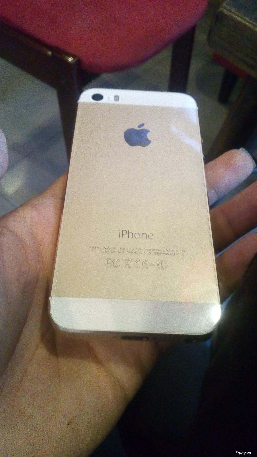 Iphone 5s 16gb qte full chức năng - 1