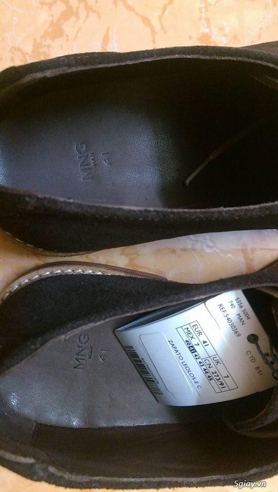 Đôi giày da lộn chính hãng Mango - 5